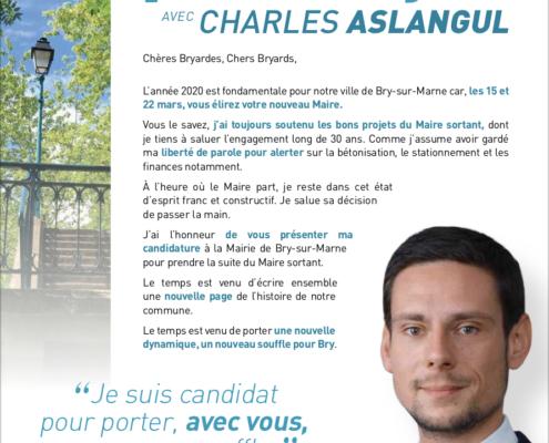 lettre candidature Charles Aslangul téléchargement